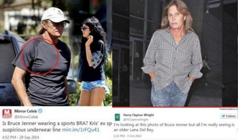 Bruce Jenner twitter pictures (The Examiner)