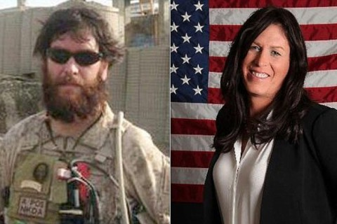 Kristin Beck is a former United States Navy SEAL who gained public attention in 2013 when she came out as a trans woman.