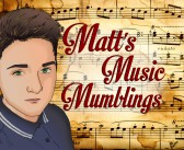 Matt's Music Mumblings #1