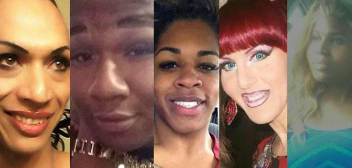 Some of the transgender people who have lost their lives this year for being who they are.