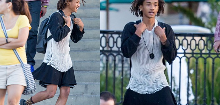 Jaden Smith in Calabasas California