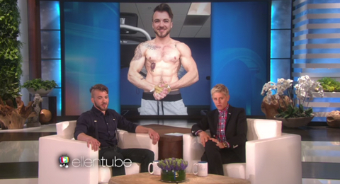 Transgender Male Appears on Ellen