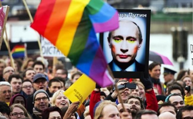 Putin hate for GLBT