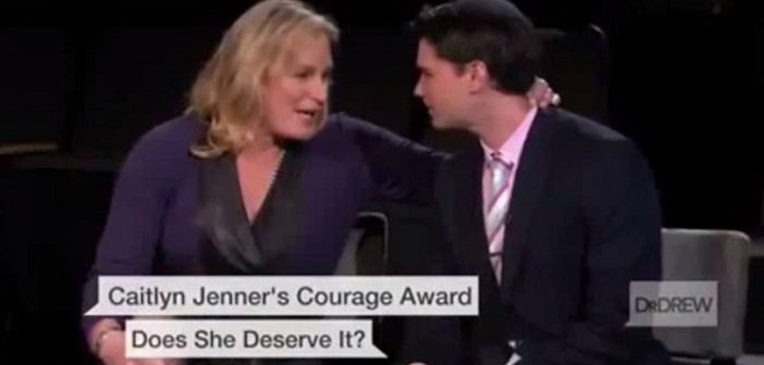 Zoey Tur and Ben Shapiro