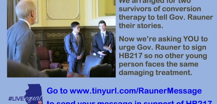 Illinois Becomes Fifth Jurisdiction to Protect LGBTQ Kids from Conversion Therapy