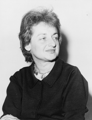 Betty Friedan, first president of the National Organization of Women