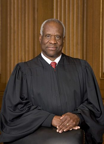 Justice Clarence Thomas was the only dissenting voice as the Supreme Court let the Grimm ruling stand.