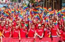 Delta Airlines at New York City's Pride Festival