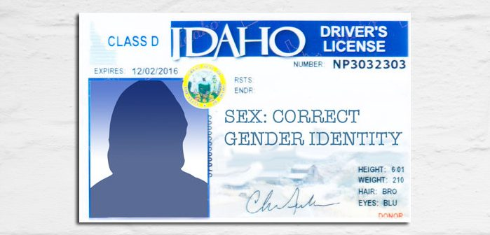Idaho Transgender License