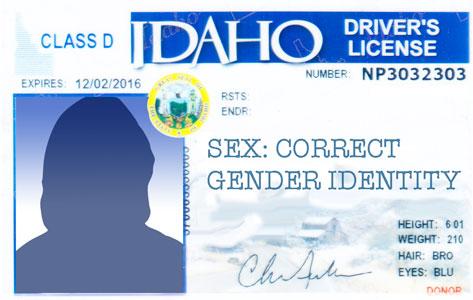 Transgender Drivers License