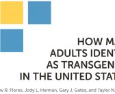 Williams Institute study doubles estimate of Transgender population in the United States