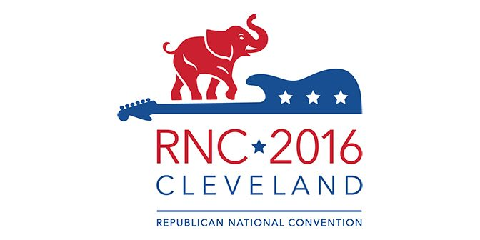 The 2016 Republican National Convention Logo