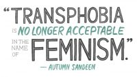 Autum Sandeen Quote on Feminism