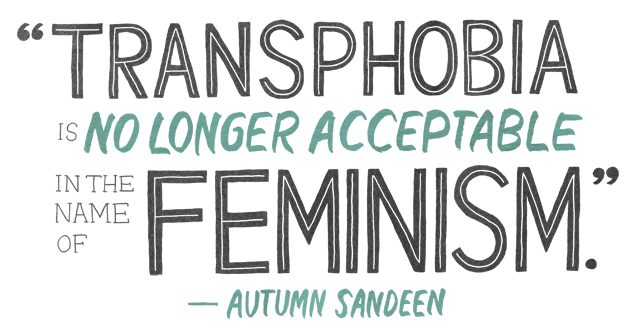 Autum Sandeen Quote on Feminism