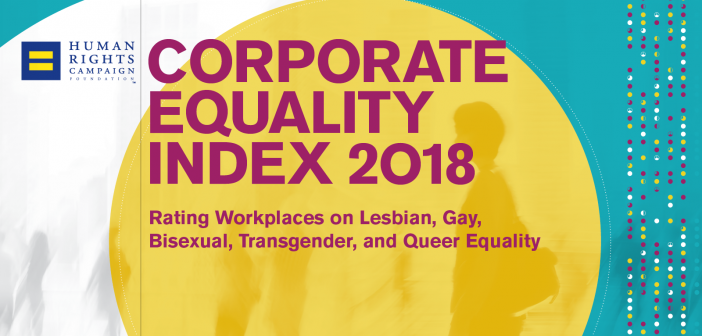HRC Corporate Equality Index with Record 609 Companies Earning Perfect Scores