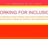 U.S. Commission on Civil Rights calls on congress to enact LGBT protections