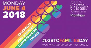 Logo for 2018 LGBTQ Family Day