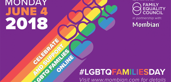 Logo for 2018 LGBTQ Family Day