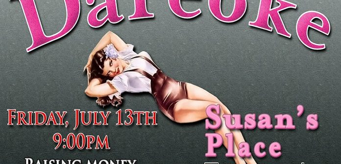 Lipstick Lounge holds DAREOKE fundraiser for Susan's Place JULY 13th
