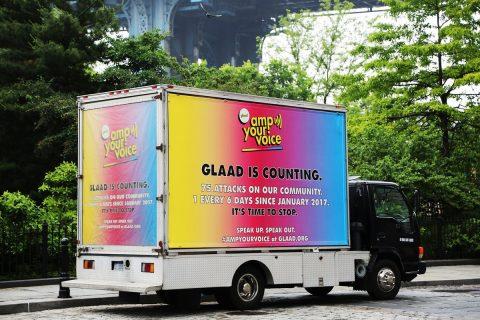 GLAAD AmpYourVoice Billboard