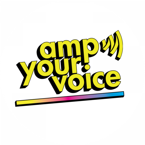 Amp Your Voice Campaign Logo
