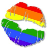 Lipstick Lounge Pride Lips