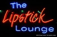 Lipstick Lounge Sign